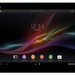 Sony Xperia Z tablet Z gepresenteerd op MWC