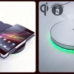 Laad de Sony Xperia Z draadloos op met Qi oplader